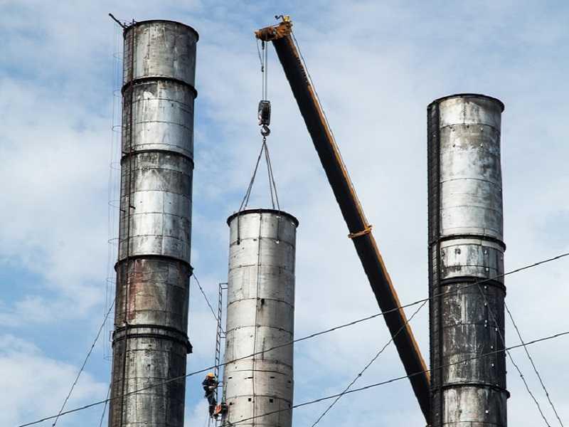 Сложный демонтаж металлоконструкций
